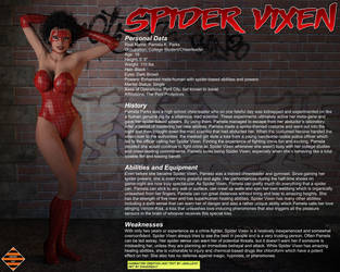 Spider Vixen - Character Profile by Dangerguy01