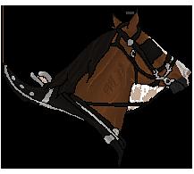 Draft Horse Pixel by forestnymphxoxo