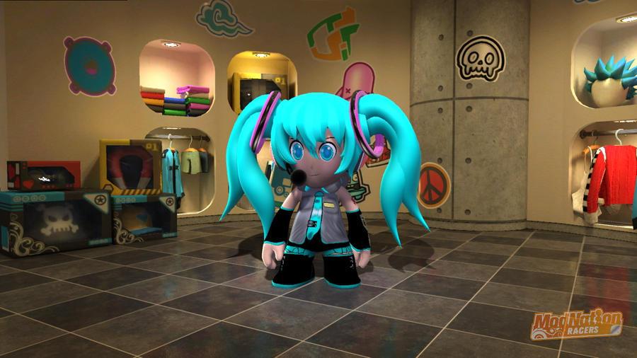Miku Hatsune vocaloid by Darkchi2