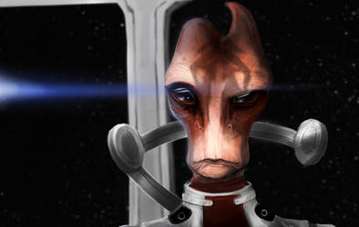 Mordin Solus by conceptfox