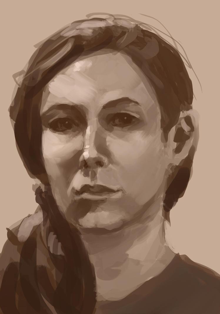 Self portrait 2014 by conceptfox