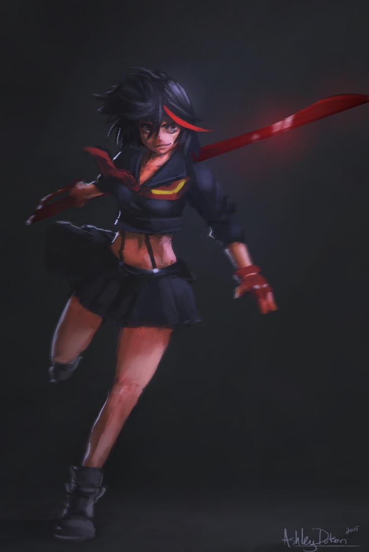 Ryuko by conceptfox