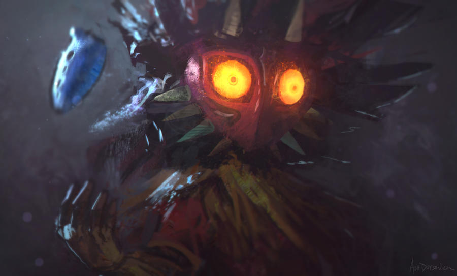 Skull Kid by conceptfox