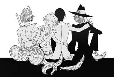 Lupin III: Manga inspired, fangirl filtered (2) by sukreih