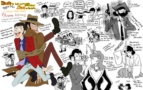 Lupin III: That PS2 game with Arsene Koichi