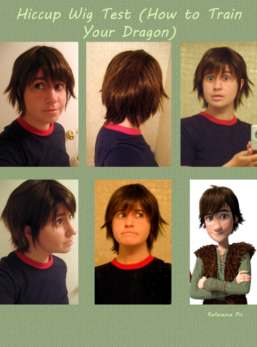 Hiccup Wig Test by Spwinkles on DeviantArt