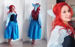 Ariel's Blue Dress Complete~