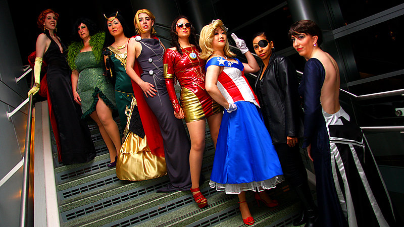 Earth's Mightiest Fashionistas by Spwinkles