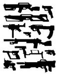 gun concept thumbs