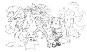 Sonic Next Gen Halloween
