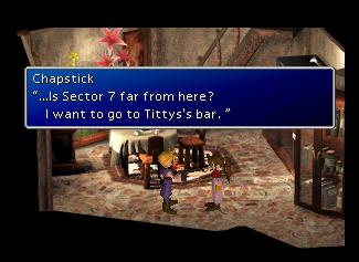 Tifa's bar by rawrlz