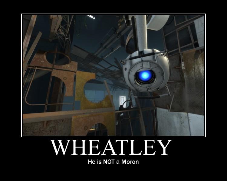 Wheatley Motivational by blueblue930