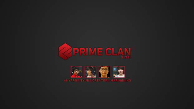 SC2 Prime Clan Wallpaper
