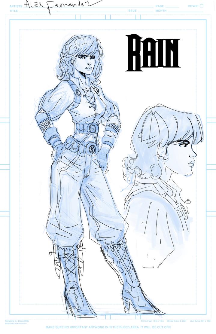 SteamPunk Comic Character Design by Matadorstudio