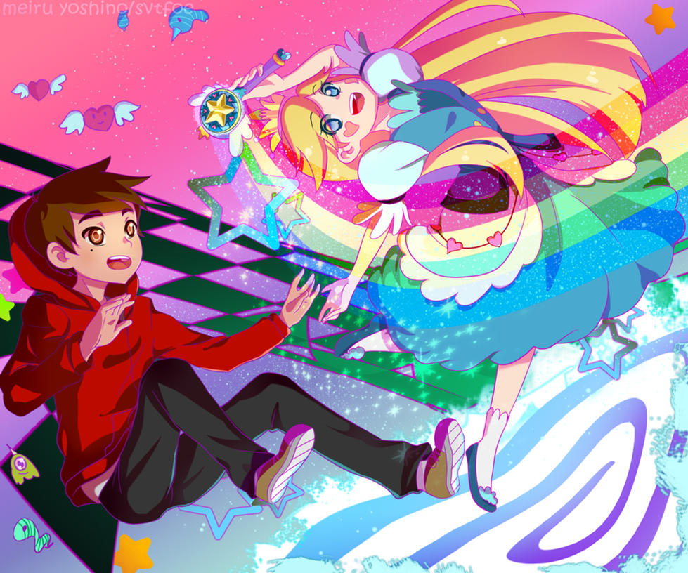 The Pros Of Cons Of Painting Vs Wallpapering: Star Vs. The Forces Of Evil By MeiruYoshino On DeviantArt