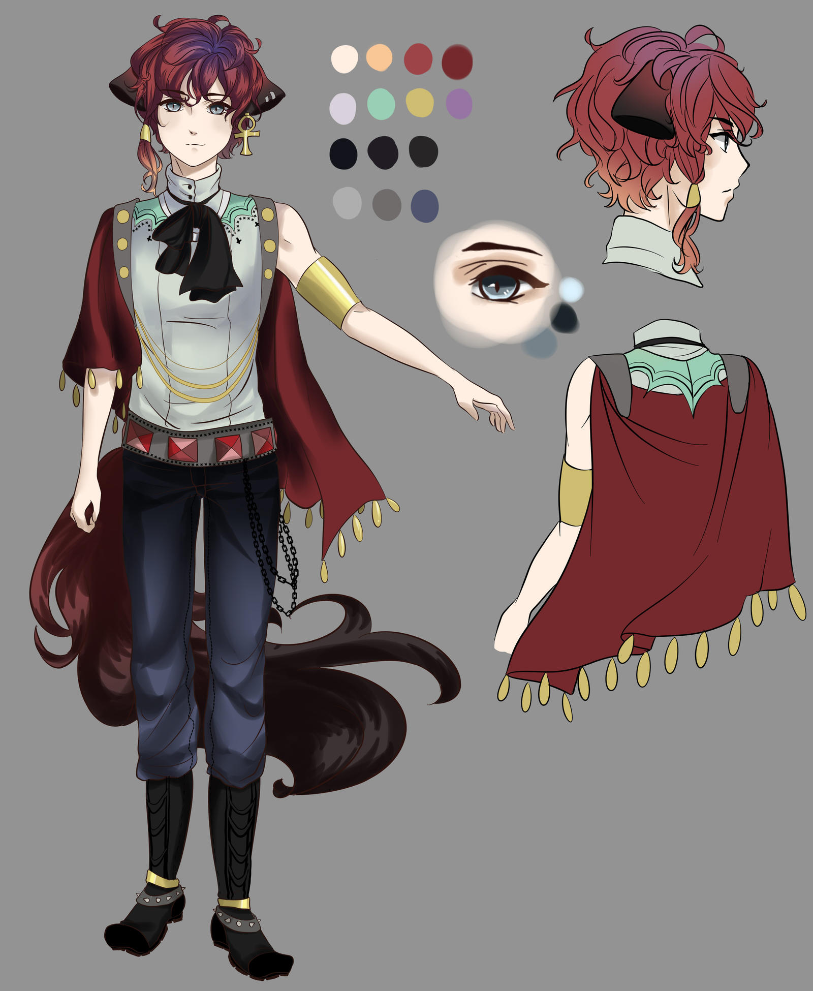 Character Design Contest : Character design contest by meiruyoshino on deviantart