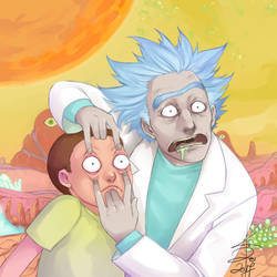 Rick and Morty by Yonrei