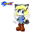 Angel the siberian husky sonic x style