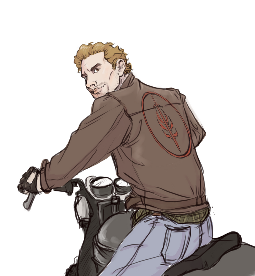 Cullen on a motorcycle by captainceranna on deviantart for Culle moderne