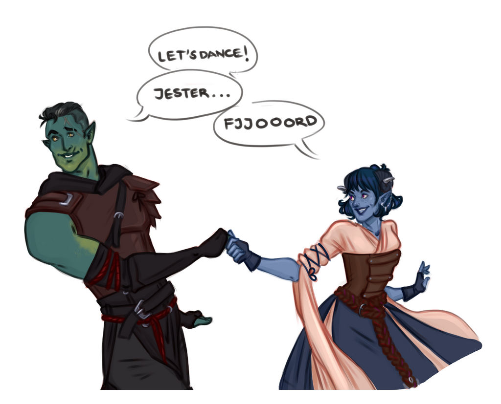 Fjord And Jester By Captainceranna On Deviantart We're all jester and nott tbh. fjord and jester by captainceranna on