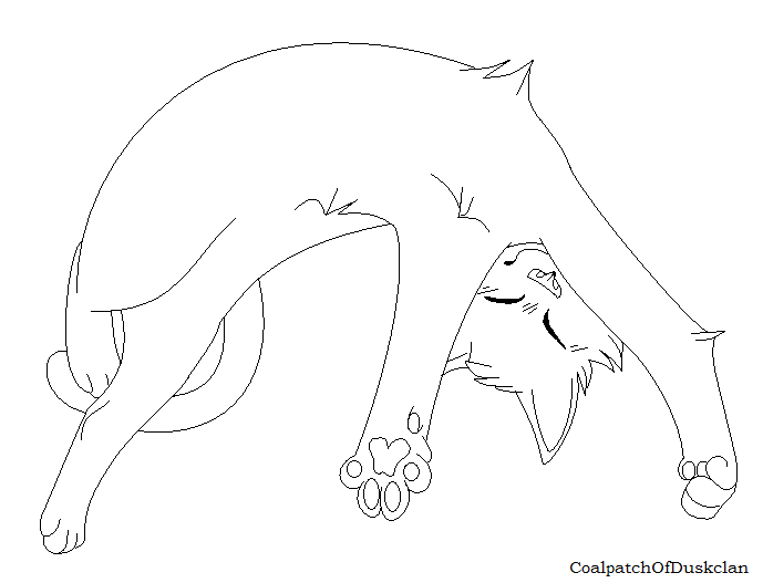 Warrior cat clan coloring pages