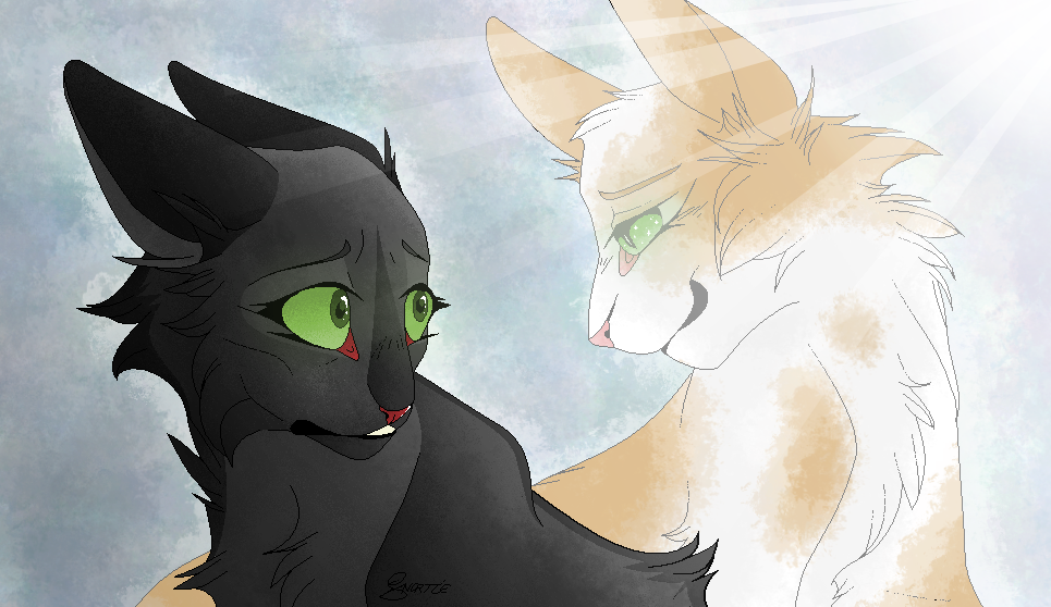 Warriors Cats Hollyleaf And Fallen Leaves