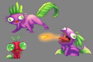 Radish dragon concept