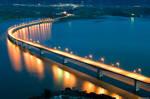 Bridge over the Polifitos Lake