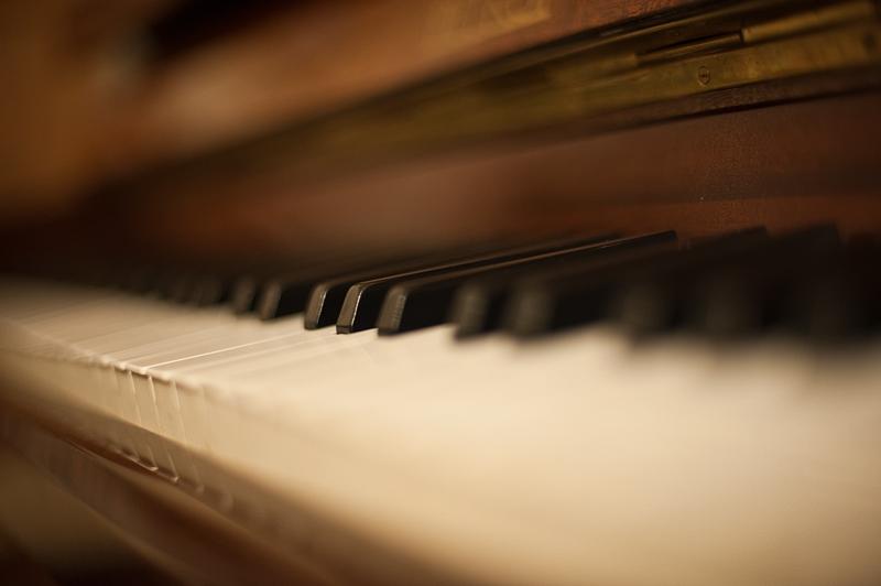 Piano bokeh by NickKoutoulas
