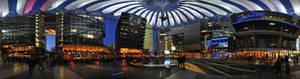 Sony Center, Berlin - Panorama
