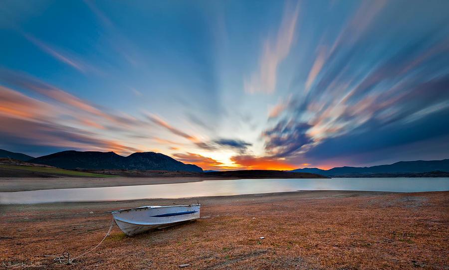Silent boat