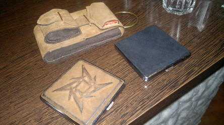 Tobaco pouch and cigarette cases by R1CH4RD43