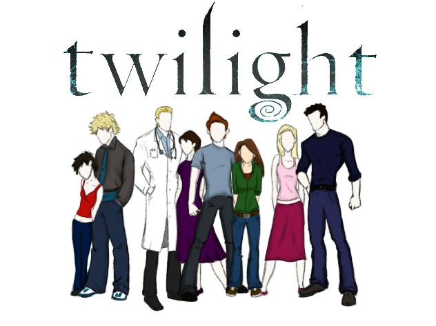 Twilight Cullens by alifsu17