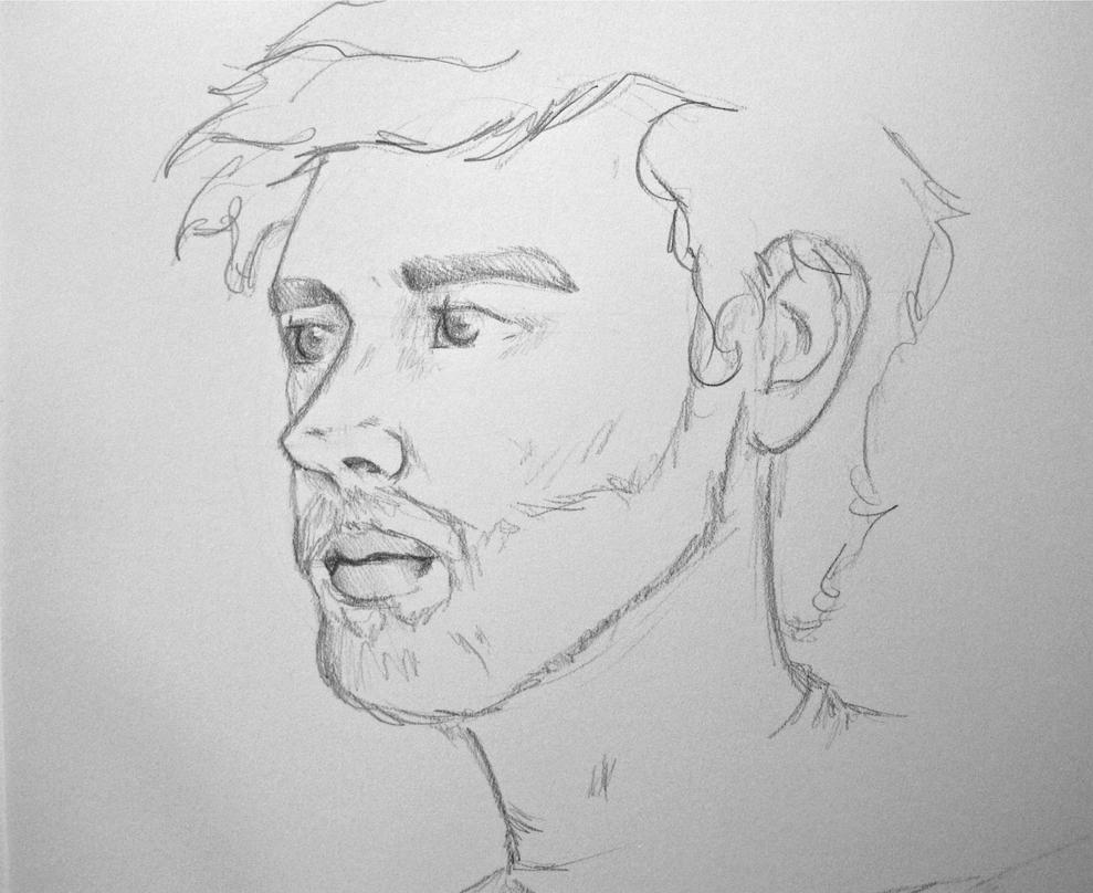 how to draw quick sketches