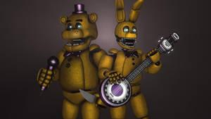 Fredbear and Spring Bonnie