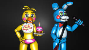 Toy Bonnie and Toy Chica