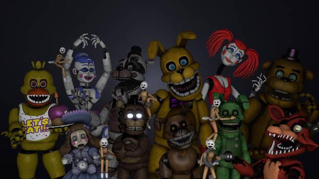 Fnaf Book Characters