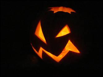Halloween : Simple Pumpkin by DecoyRobot