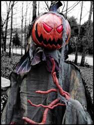 Halloween : Pumpkin dude by DecoyRobot