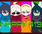 HAPPY 413!!!