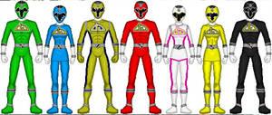 Deviant Sentai: DrawOnger