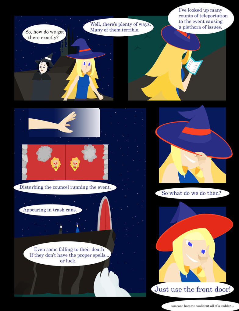 Wizard Palooza Page 4 The front god damn door by pwned-by-twilight