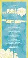 25th Anniversary Invitation by lhilton