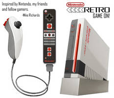 Nintendo Retro by RetroMike