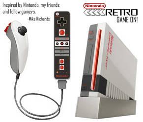 Nintendo Retro by RetroMike