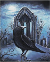 Celestial Moonlight - The Crow by Derek-Castro