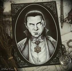 Bela Lugosi (Dracula) by Derek-Castro