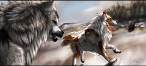 Tokota Bear Hunt By Darktara(NOT MY ART!!)