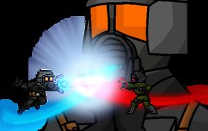 Swordplaying by Freak-Ops