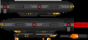 Mazenovich War Blimp Transport Variant by Freak-Ops